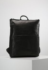 Still Nordic - WON RAVEN BACKPACK - Ryggsäck - black - 0