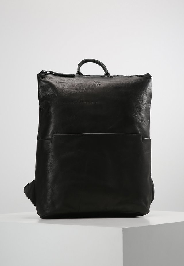 WON RAVEN BACKPACK - Rugzak - black