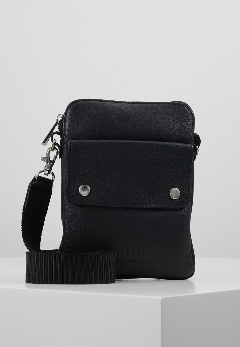 Still Nordic - THOR MINI MESSENGER - Umhängetasche - black