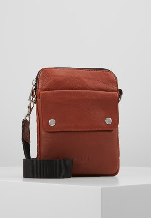THOR MINI MESSENGER - Across body bag - cognac