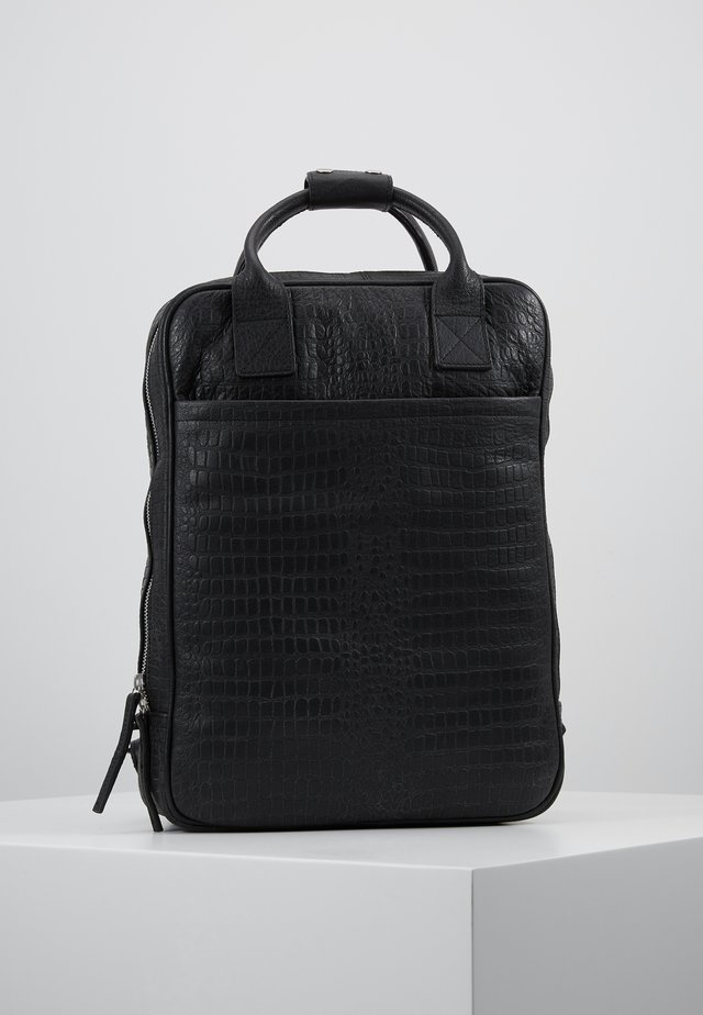 DUNDEE BACKPACK - Reppu - black