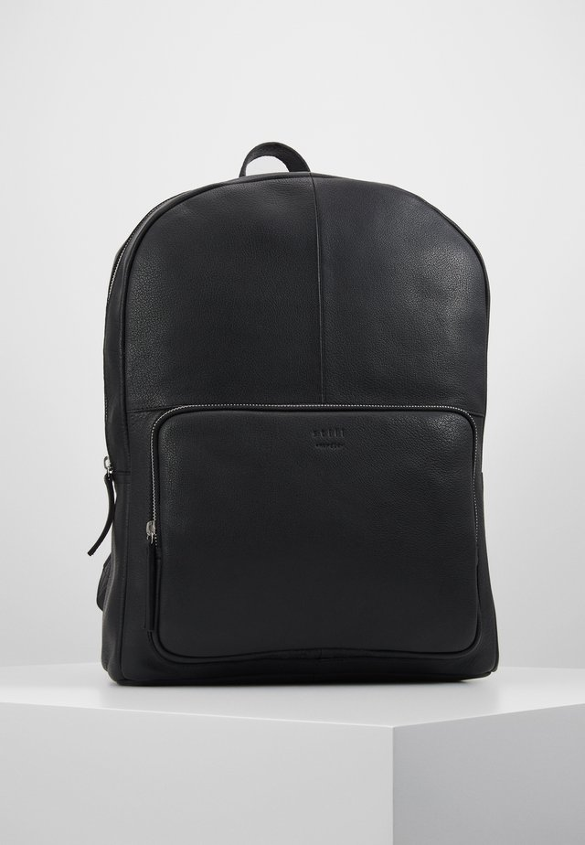 LUKE CLEAN BACKPACK - Reppu - black