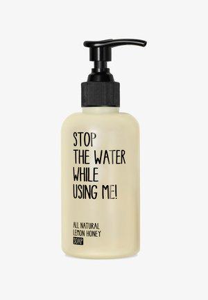 SOAP - Liquid soap - lemon honey