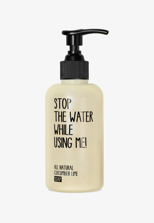 SOAP 200ML - Flytande tvål - cucumber lime