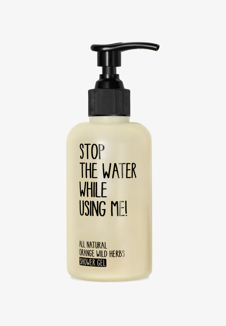 STOP THE WATER WHILE USING ME! - SHOWER GEL 200ML - Docciaschiuma - orange wild herbs