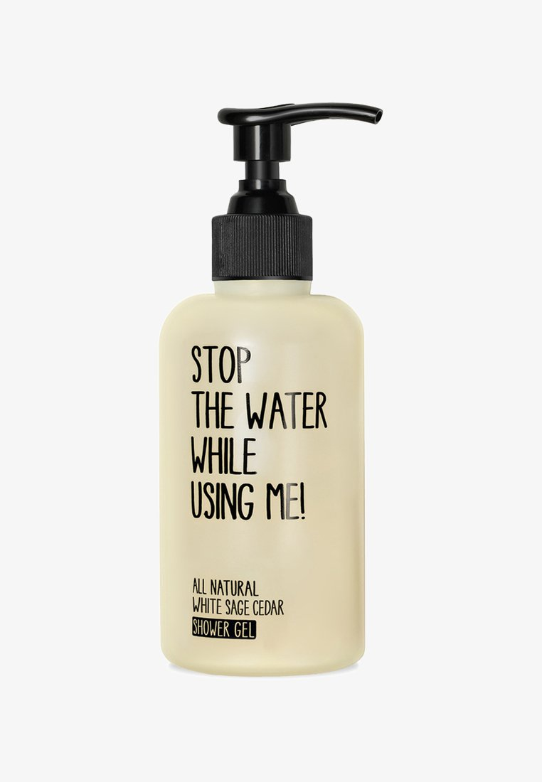 STOP THE WATER WHILE USING ME! - SHOWER GEL 200ML - Douchegel - white sage cedar
