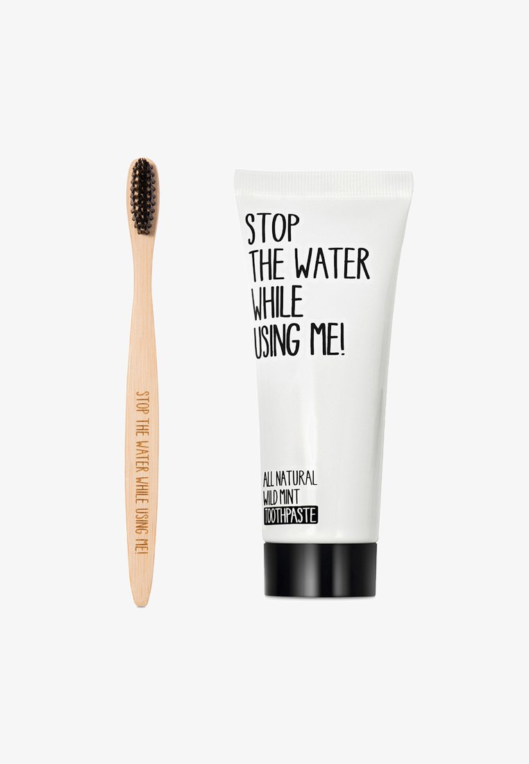 STOP THE WATER WHILE USING ME! - ORAL CARE KIT TOOTHBRUSH, TOOTHPASTE & ORAL CARE - Bad- & bodyset - neutral