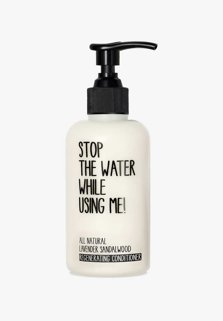 STOP THE WATER WHILE USING ME! - CONDITIONER 200ML - Conditioner - lavender sandalwood regenerating
