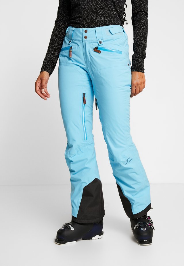 ZERMATT PANTS - Snow pants - aqua blue
