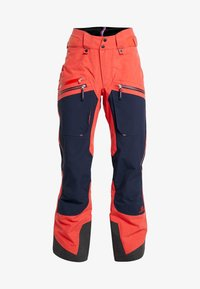 State of Elevenate - BACKSIDE PANTS - Schneehose - red glow - 5