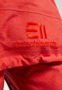 State of Elevenate - BACKSIDE JACKET - Skijacke - red glow - 9