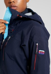 State of Elevenate - BACKSIDE JACKET - Skijacke - dark navy - 4
