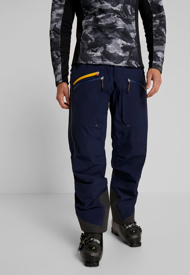 BACKSIDE PANTS - Snow pants - dark navy