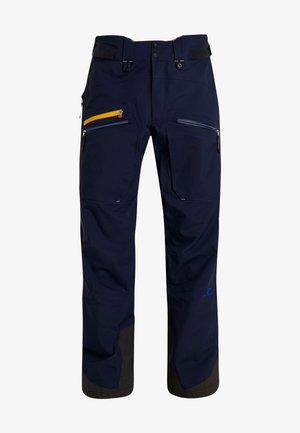 BACKSIDE PANTS - Snow pants - dark navy