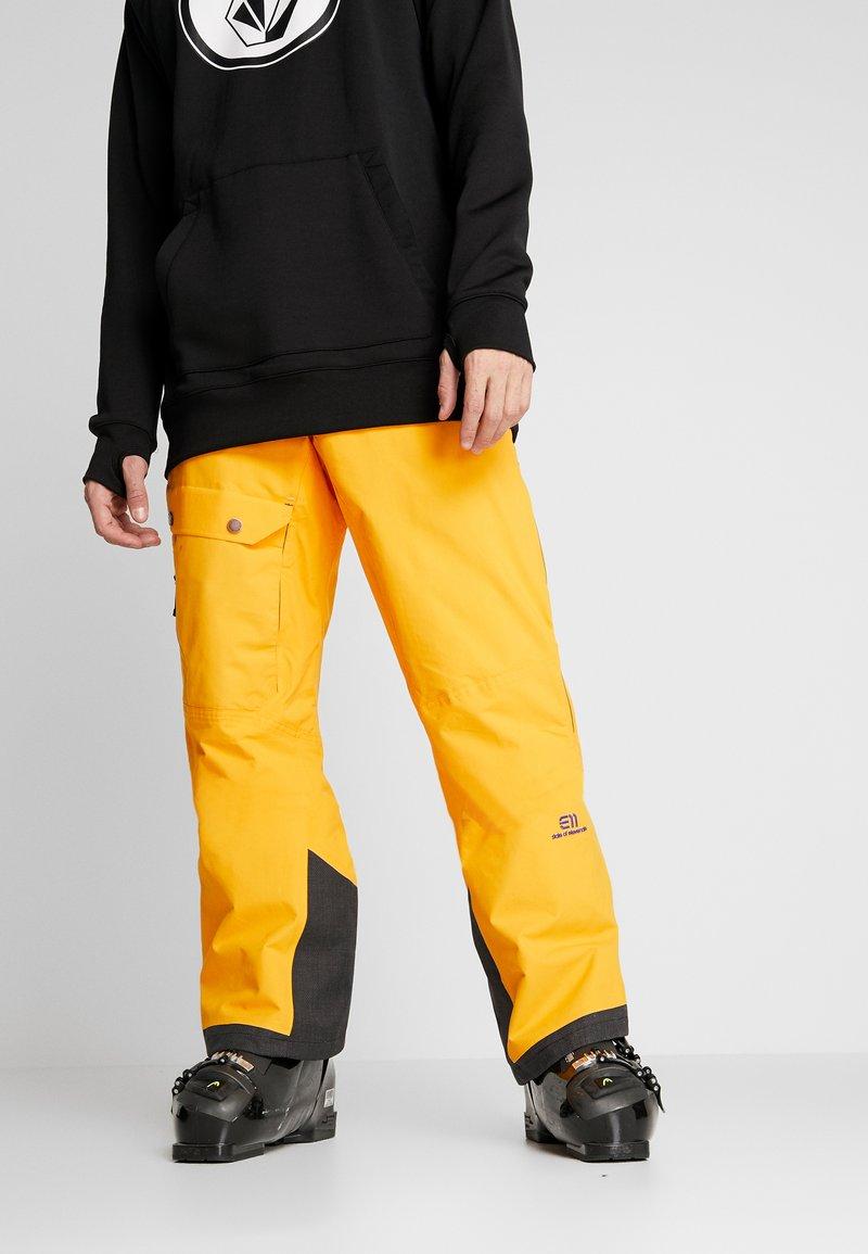 State of Elevenate - BREVENT PANTS - Täckbyxor - cadmium yellow