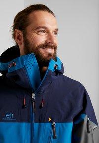 State of Elevenate - BACKSIDE JACKET - Ski jacket - blue sapphire - 3