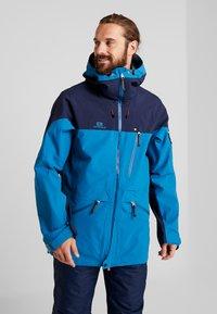 State of Elevenate - BACKSIDE JACKET - Ski jacket - blue sapphire - 0