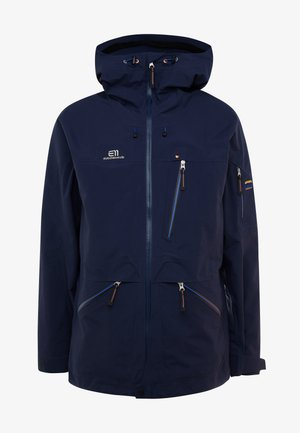 BACKSIDE JACKET - Skijacke - dark navy