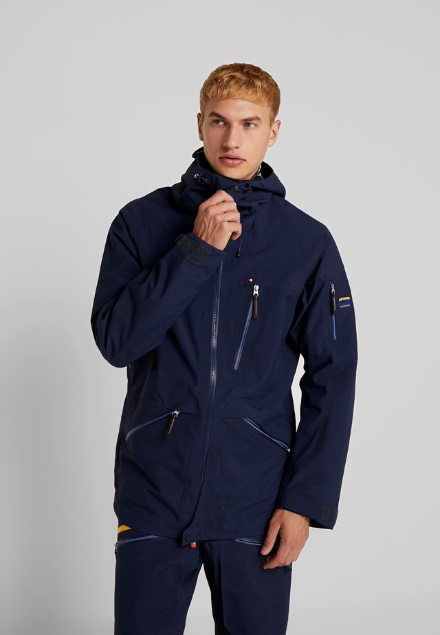 BACKSIDE JACKET - Ski jacket - dark navy