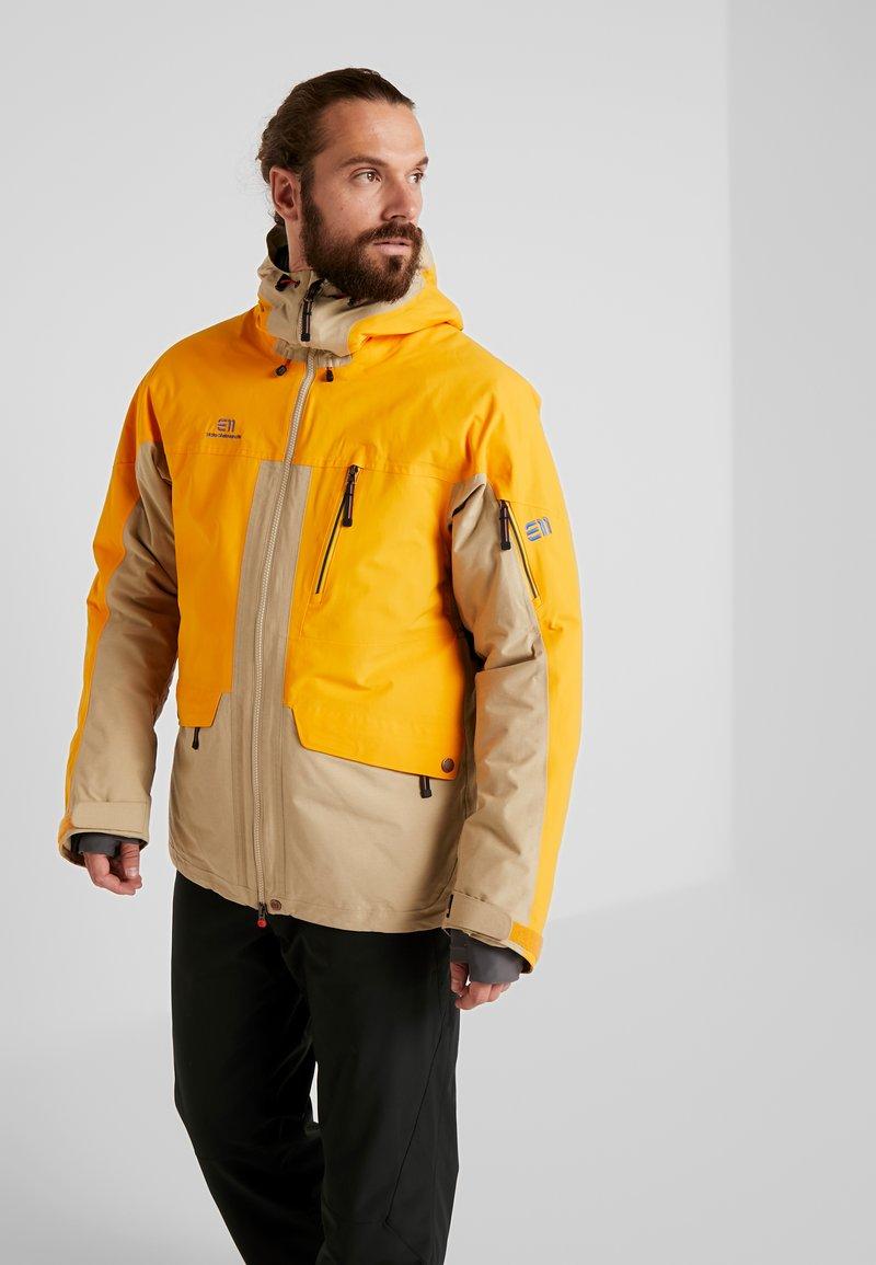 State of Elevenate - BREVENT JACKET - Skijakker - cadmium yellow