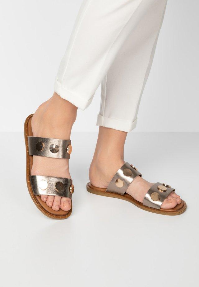 Sandaler - pewter pwt