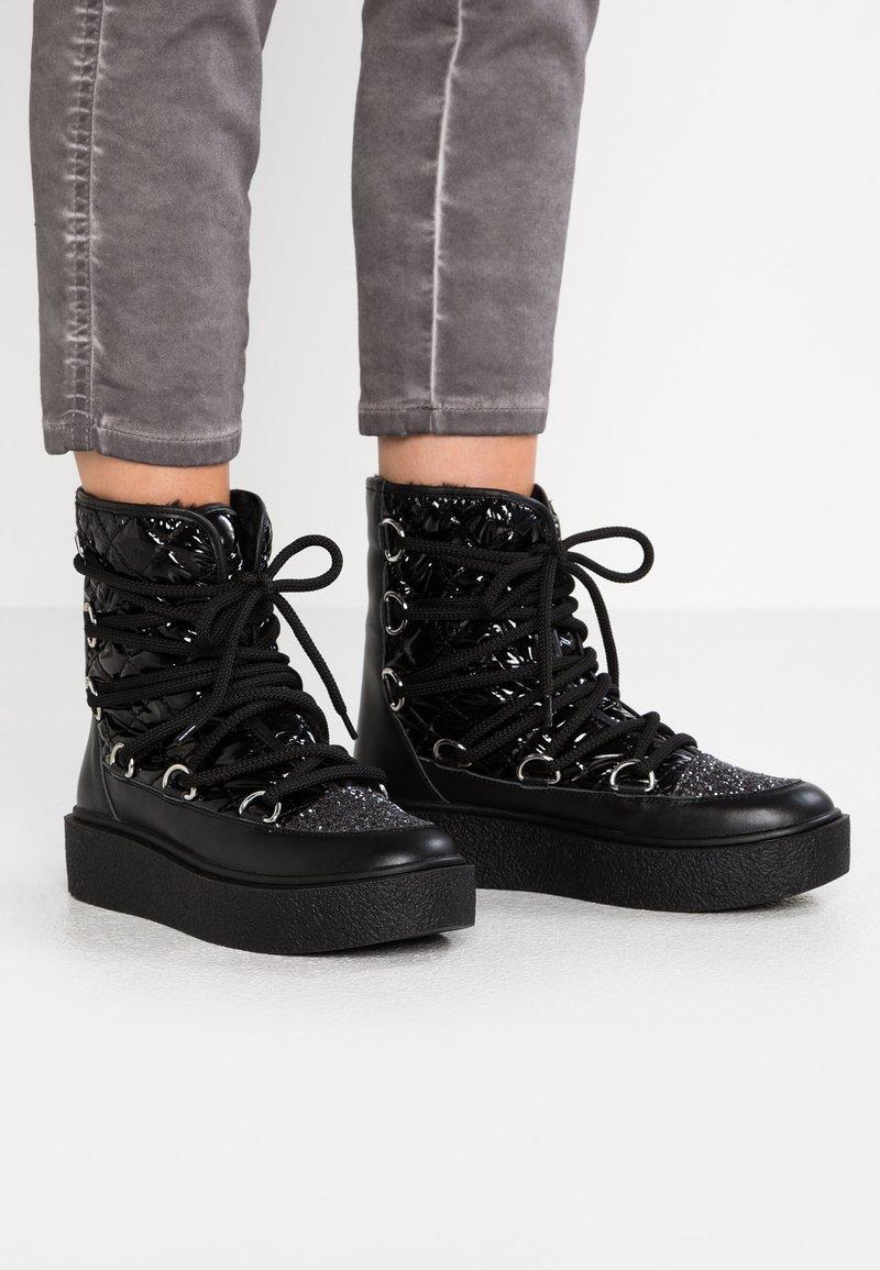 Studio Modd - Platform ankle boots - black
