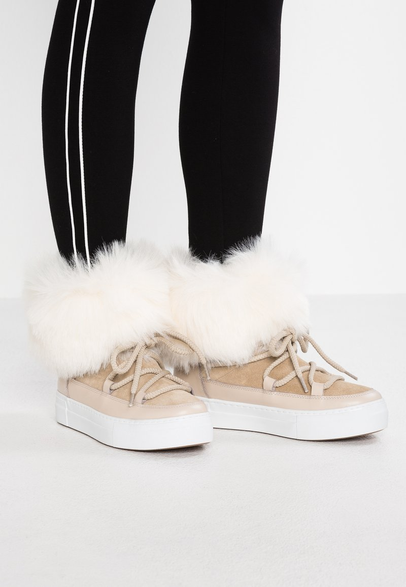 Studio Modd - Lace-up ankle boots - beige