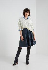 STUDIO ID - TESSA SKIRT - A-line skirt - dark blue - 1