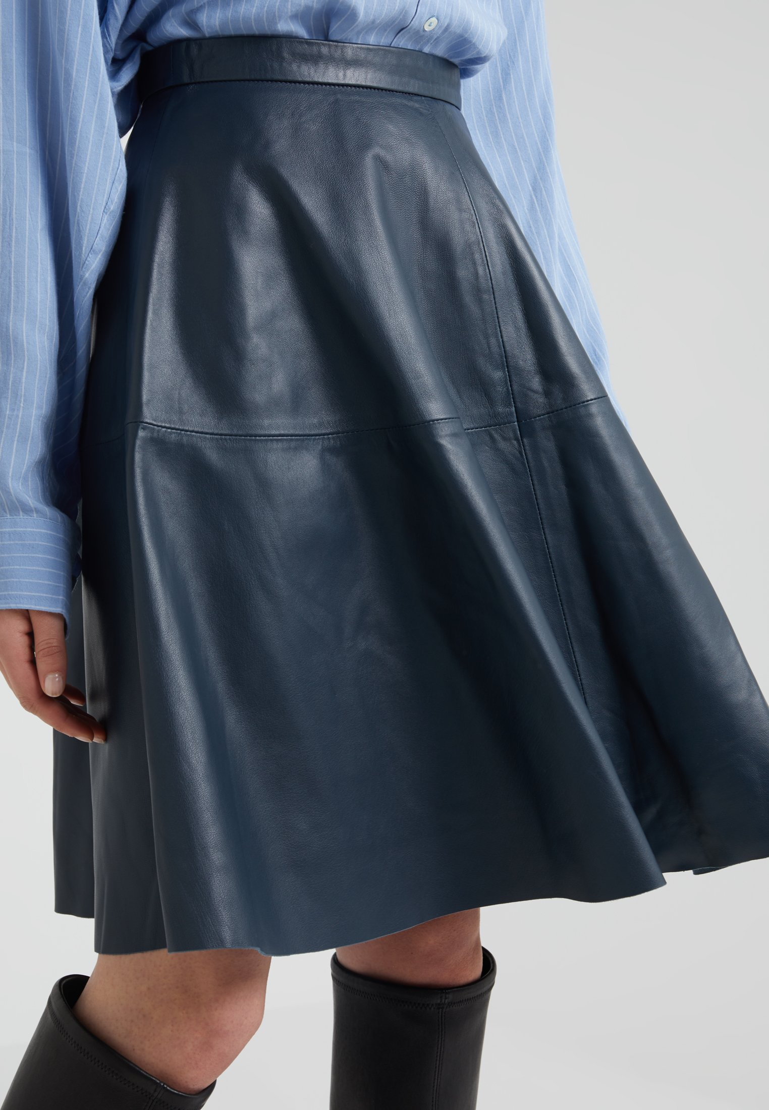 STUDIO ID TESSA SKIRT - A-line skjørt - dark blue