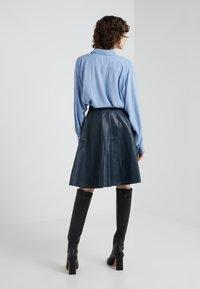 STUDIO ID - TESSA SKIRT - A-linjainen hame - dark blue - 2