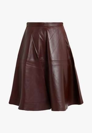 TESSA SKIRT - A-Linien-Rock - reddish brown