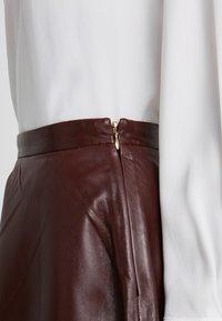 STUDIO ID - TESSA SKIRT - A-lijn rok - reddish brown - 4