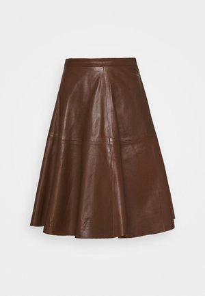TESSA SKIRT - A-line skjørt - brown