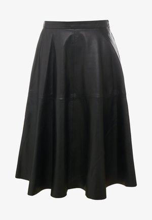 TESSA SKIRT - A-line skjørt - black