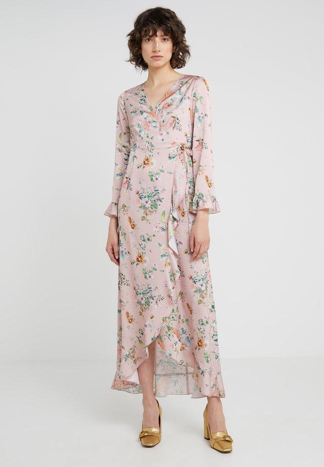 JULE LONG FLORAL DRESS - Maksimekko - pink/multi