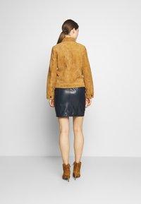 STUDIO ID - PHILIPPA JACKET - Leather jacket - cognac - 2