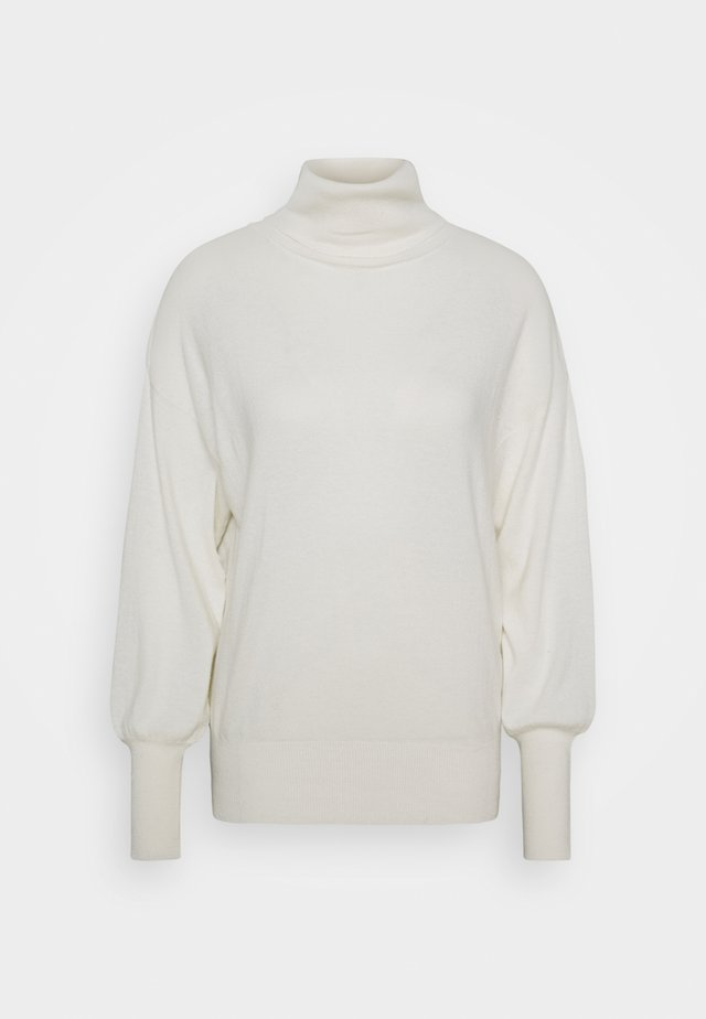TURTLE NECK - Jumper - ivory