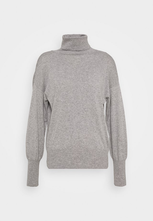 TURTLE NECK - Strikkegenser - grey