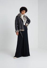 STUDIO ID - BIKER JACKET - Leather jacket - black - 1