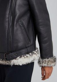 STUDIO ID - BIKER JACKET - Leather jacket - black - 3