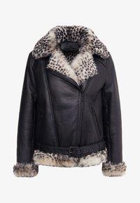 STUDIO ID - BIKER JACKET - Leather jacket - black - 4