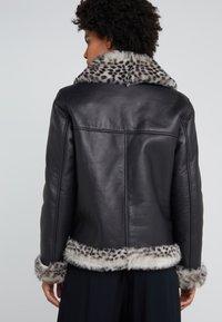 STUDIO ID - BIKER JACKET - Leather jacket - black - 2