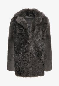 STUDIO ID - ALEXIA REVERSIBLE COAT - Leather jacket - grey - 4