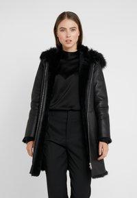 STUDIO ID - VIRGINIA COAT - Classic coat - black - 3