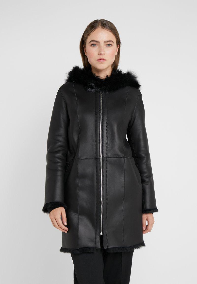 STUDIO ID - VIRGINIA COAT - Classic coat - black