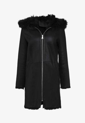 VIRGINIA COAT - Zimní kabát - black