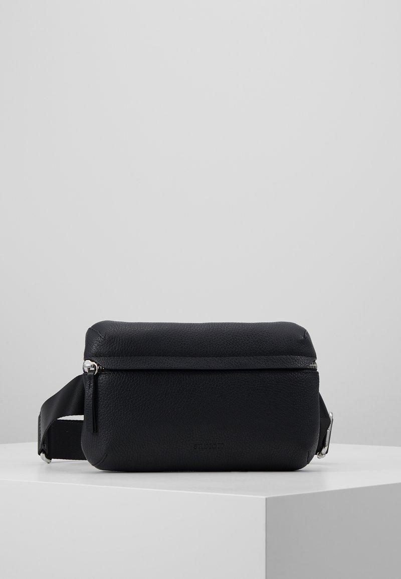 STUDIO ID - BUM BAG - Taška spříčným popruhem - black