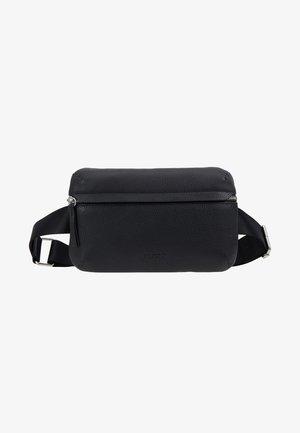 BUM BAG - Taška spříčným popruhem - black