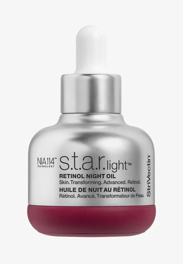 S.T.A.R.LIGHT RETINOL NIGHT OIL - Olejek do twarzy - -