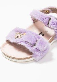 Steiff Shoes - THELMAA - Sandaalit nilkkaremmillä - lila - 2